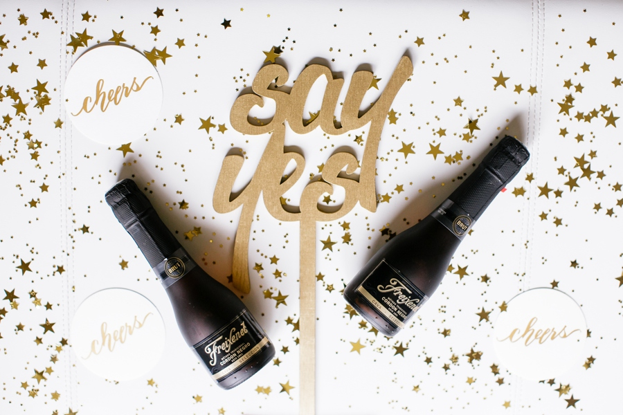 Cheers to Saying Yes with your Girls and Freixenet 26