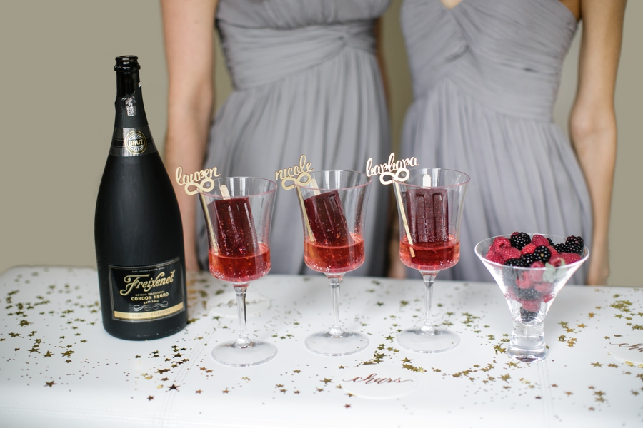 Cheers to Saying Yes with your Girls and Freixenet 41