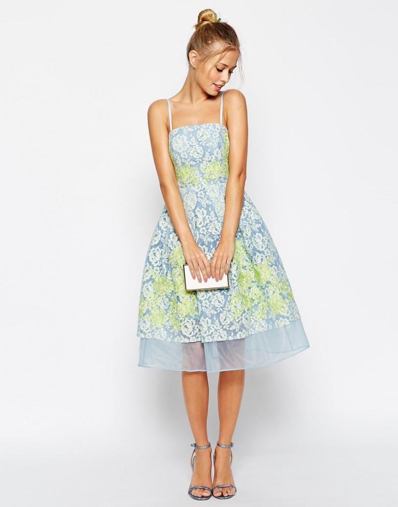 Chi Chi London Applique Dress