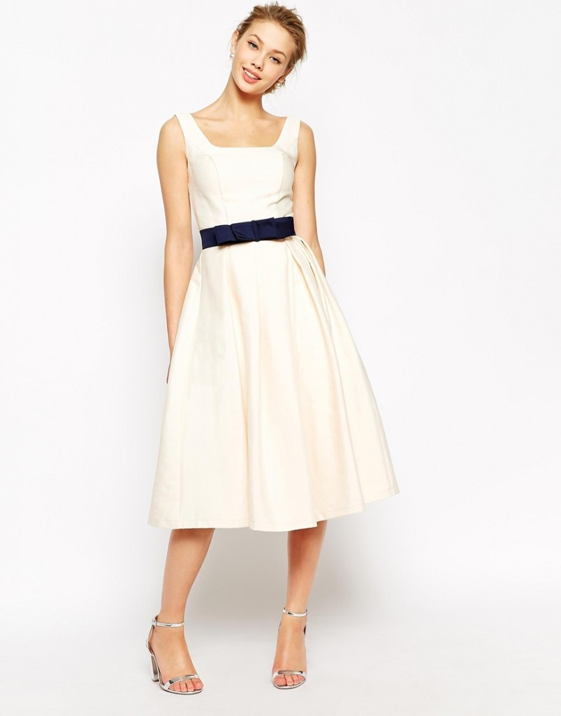Chic Short wedding dress