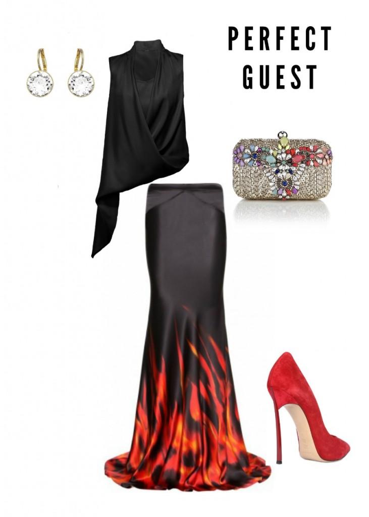 Fiery Wedding Guest