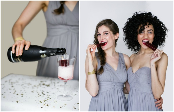 Freixenet Say yes to the dress shoot