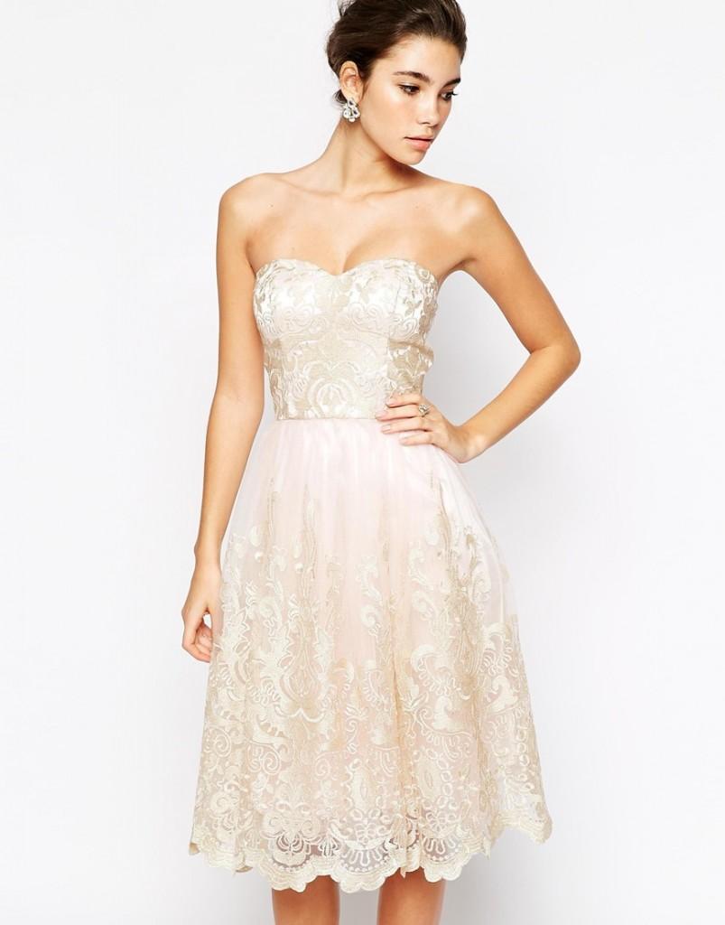 Little White Dress for the Wedding 1
