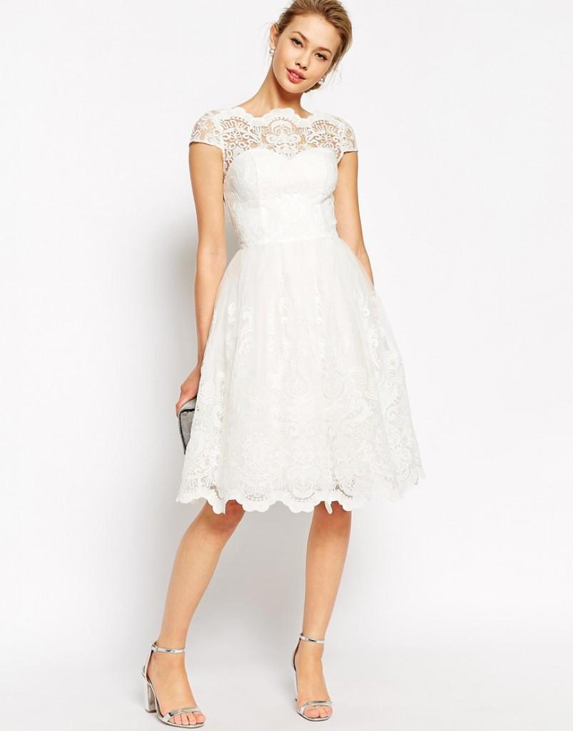 Little White Dress for the Wedding 3