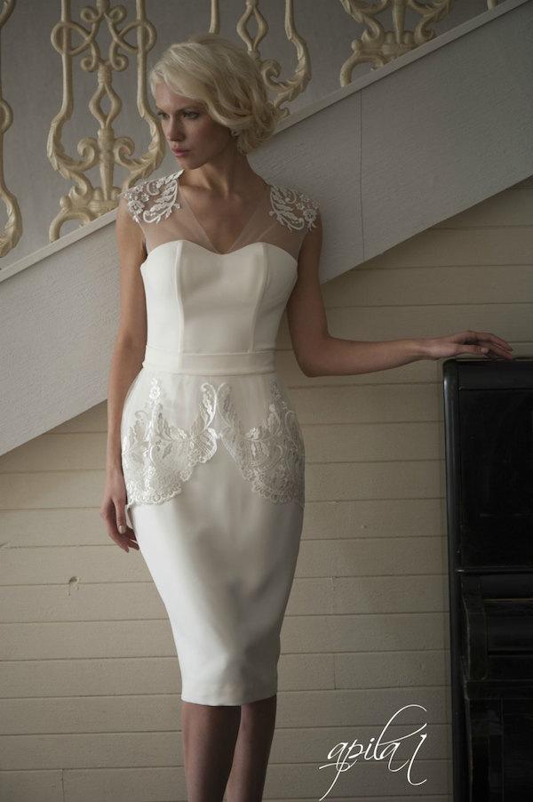 Little white dress by acreativeatelier