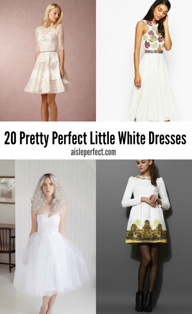 Perfect Little White Dresses