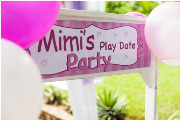Play-Date Themed Party by Olatoun Okunnu 1