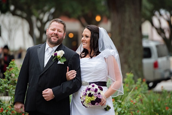 Purple Pink and Ivory Wedding by Pure Sugar Studios 14