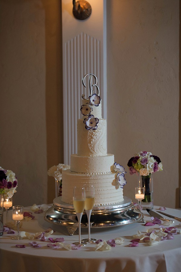 Purple Pink and Ivory Wedding by Pure Sugar Studios 43