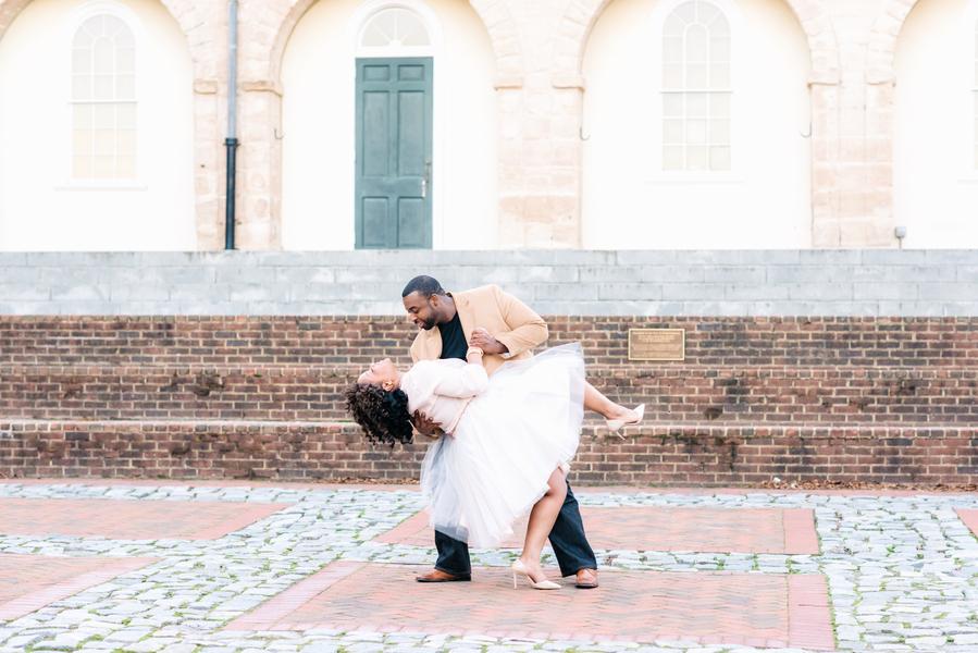 Romantic Virginia Engagement Session (22)