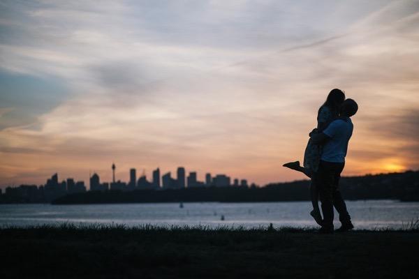 Sunny engagement shoot in sydney australia 18