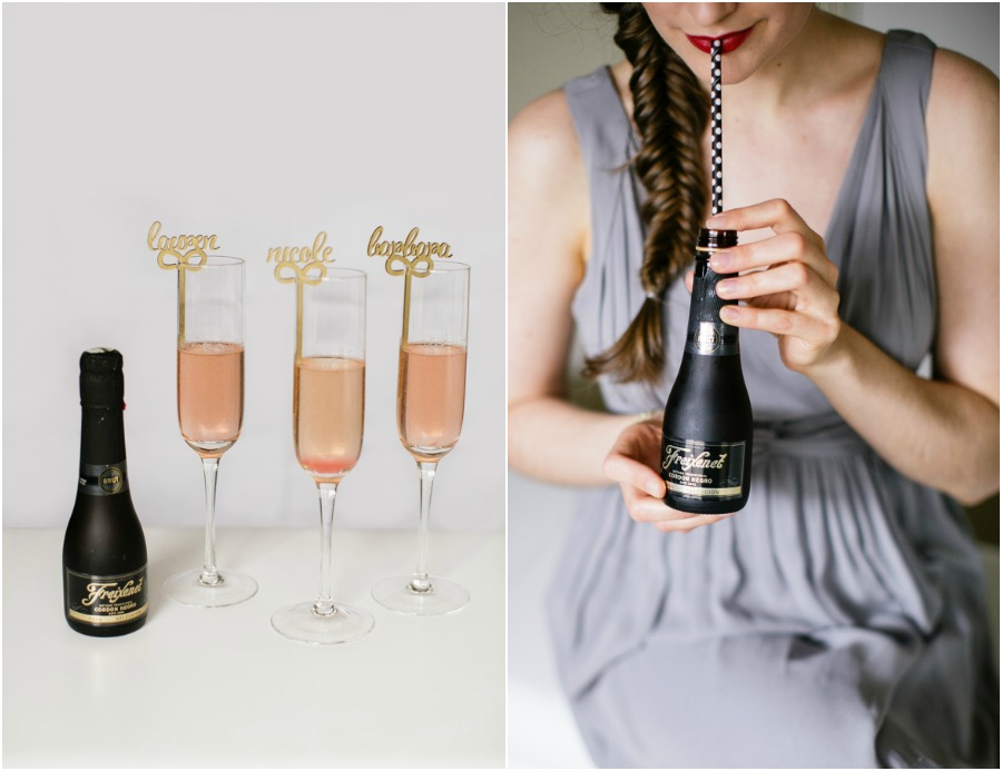 Toast to your bridesmaids with Freixenet