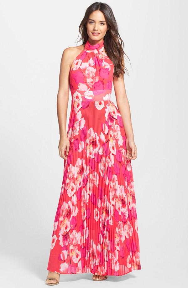 Eliza J Print Chiffon Maxi Dress at Nordstrom.