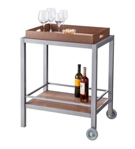 Threshold Bryant Faux Wood Patio Bar Cart, $129 at Target