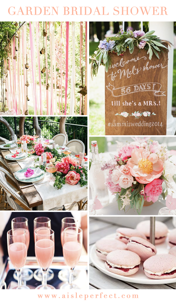 030543ee3f0 Summer is the perfect season to throw a chic garden bridal shower and as  you know from our Wedding Trends post
