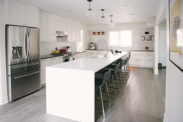 Clean White Kitchen Renovation Captured by Allie Siarto Photography (1)
