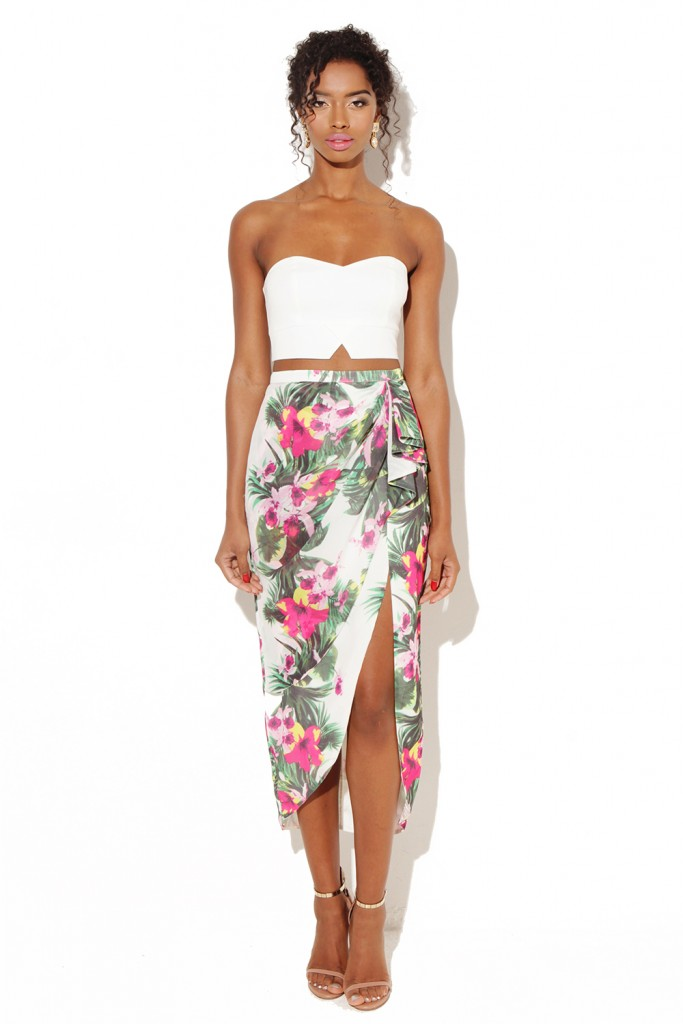 Floral Print outfit by Vlabel London