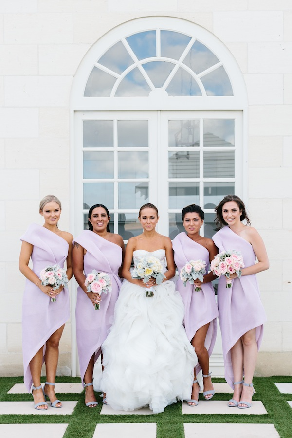 Lavender Bridesmaids in Bei na Wei - Erin and Tara Photography