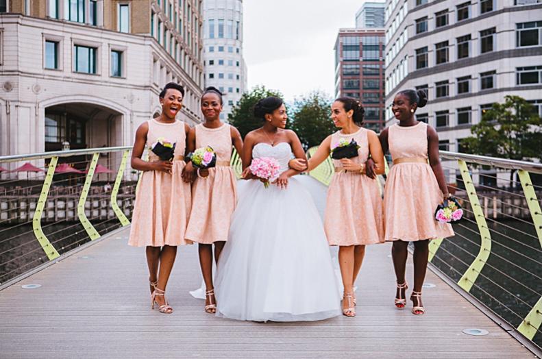 Pastel Bridesmaids _ Bola Sami Photography