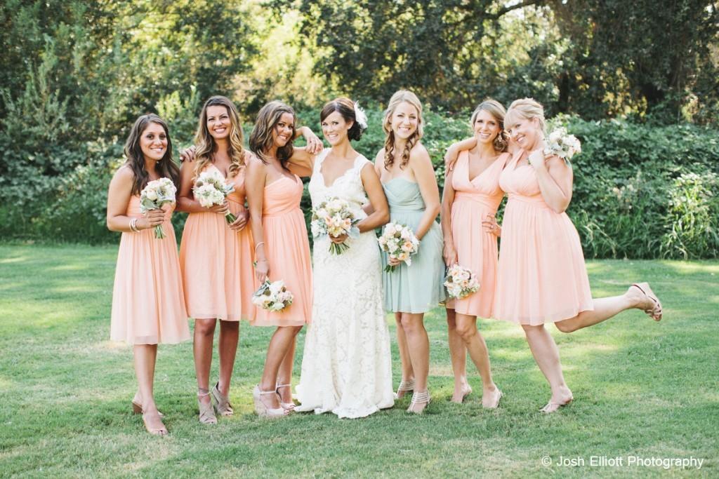 Donna Morgan Bridesmaids Dress | Josh Elliott Photography