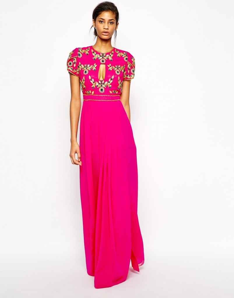 Pink Bridesmaid Dress Virgos Lounge