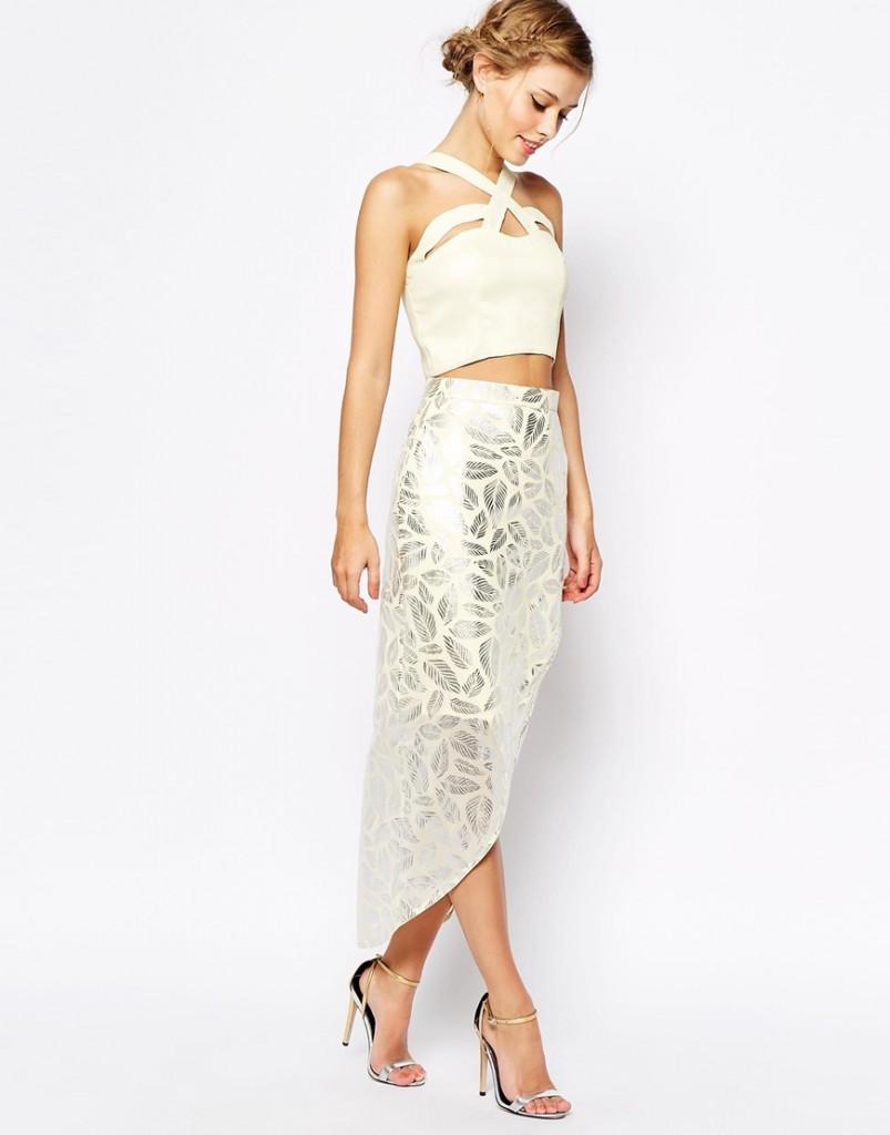 Summer Bridal Shower Outfit - Vlabel London Crop Top
