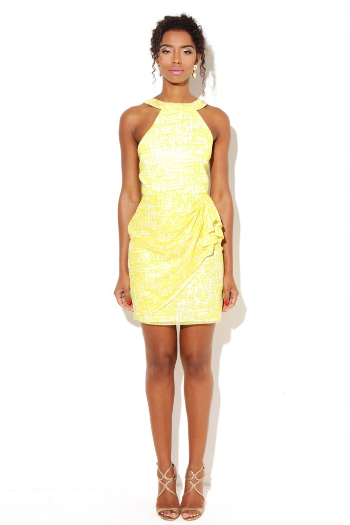 Yellow Bridal Shower Style