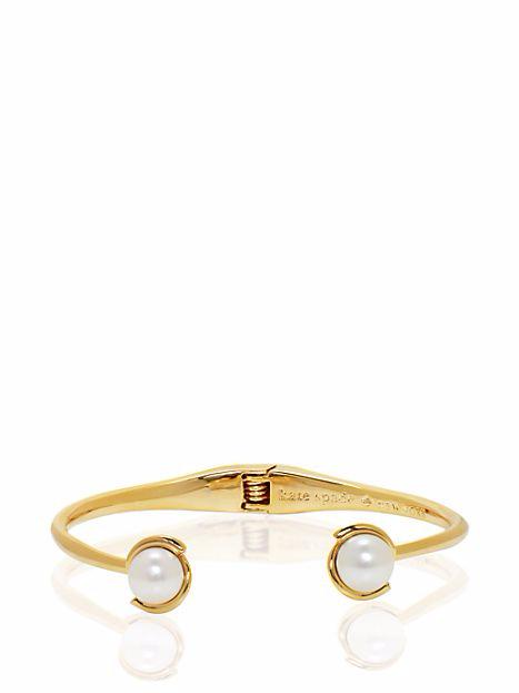 Dainty Sparklers Pearl Cuff by Tory Burch $88