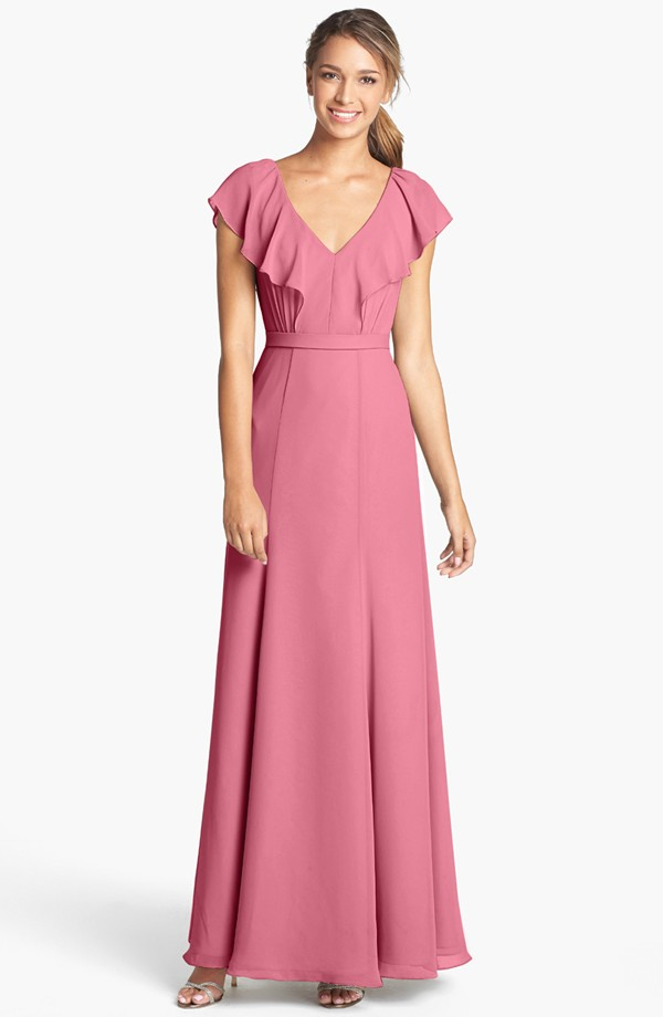pink bridesmaid dress- jenny yoo