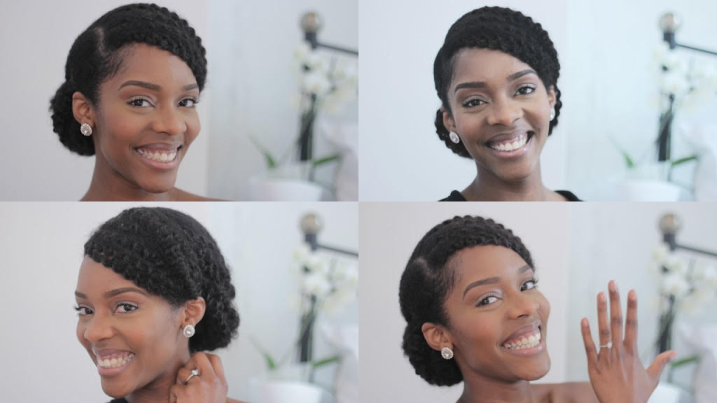 Bridal Natural Hair Inspiration 7