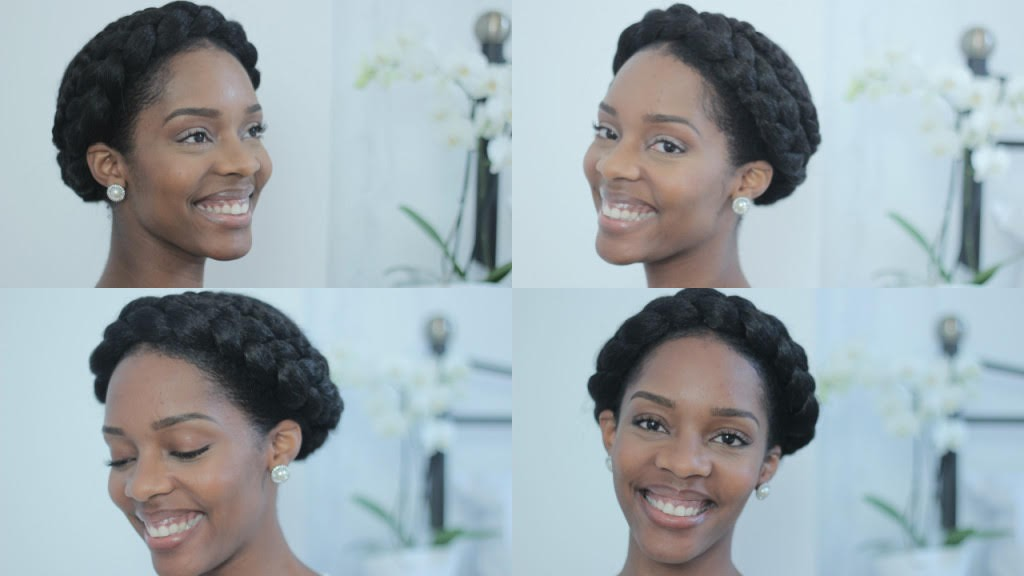 Bridal Natural Hair Inspiration 8