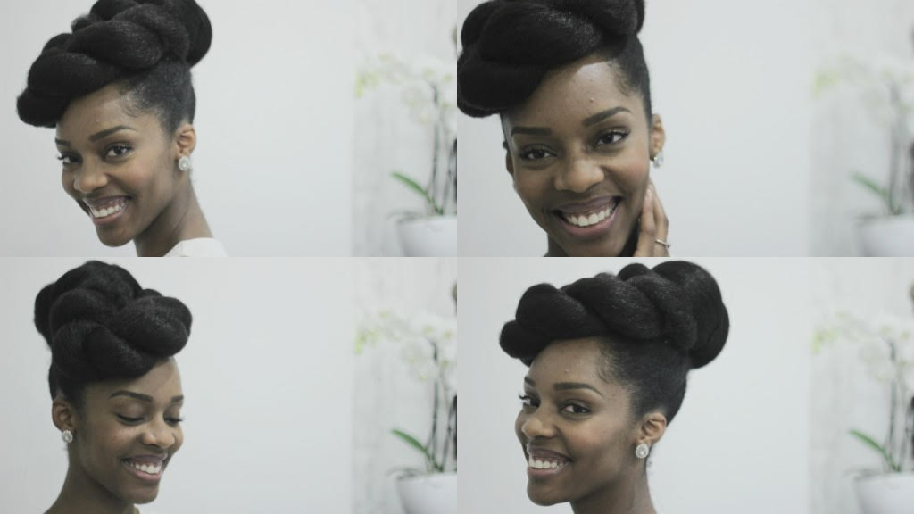 Bridal Natural Hair Inspiration 9