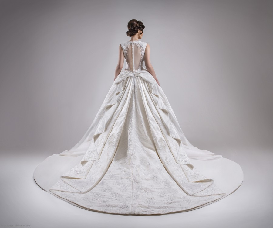 Chrystelle Atallah Wedding Dress- Lebanese Designer- Aisle Perfect
