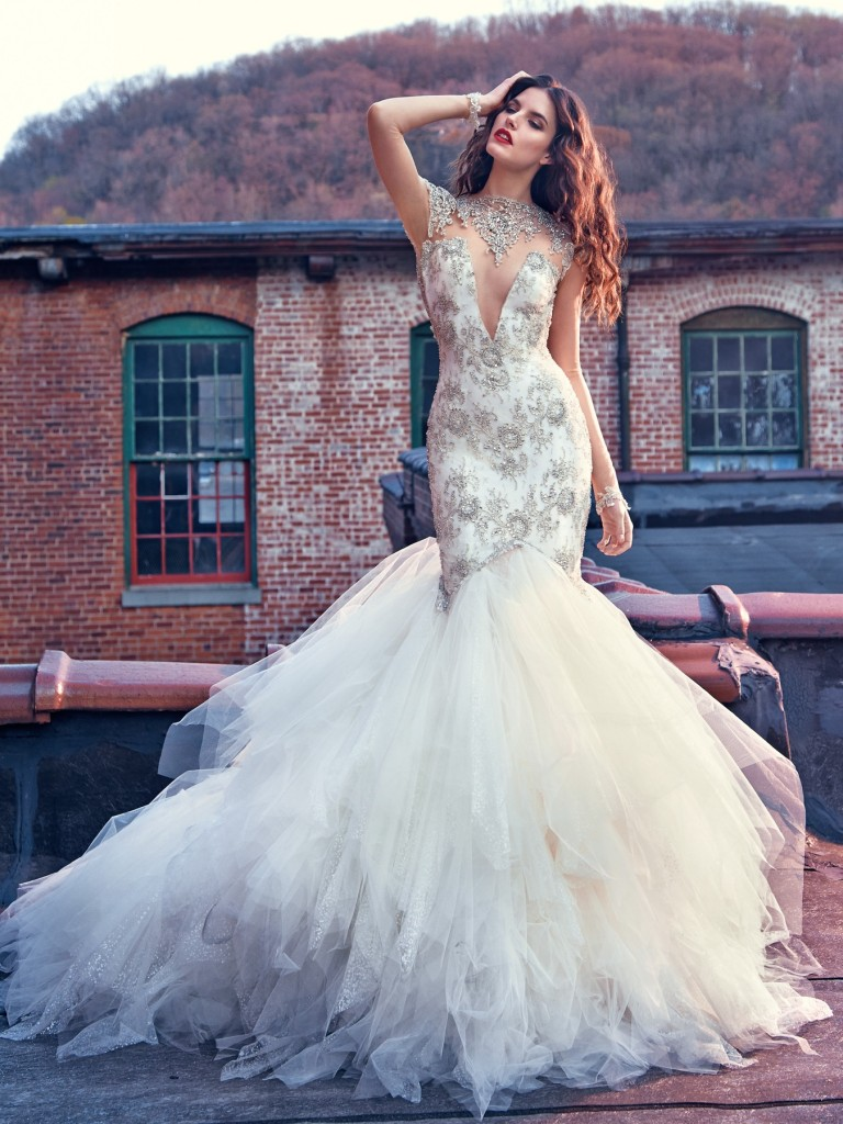 Galia Lahav Bridal Les Reves Bohemians Collection-Felicity-Front