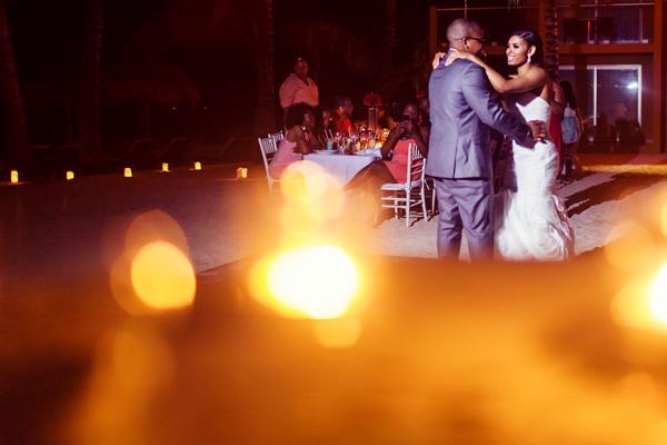 Nicole + Der'rell Wedding and Trash the Dress, Cozumel, Riviera Maya, Mexico.
