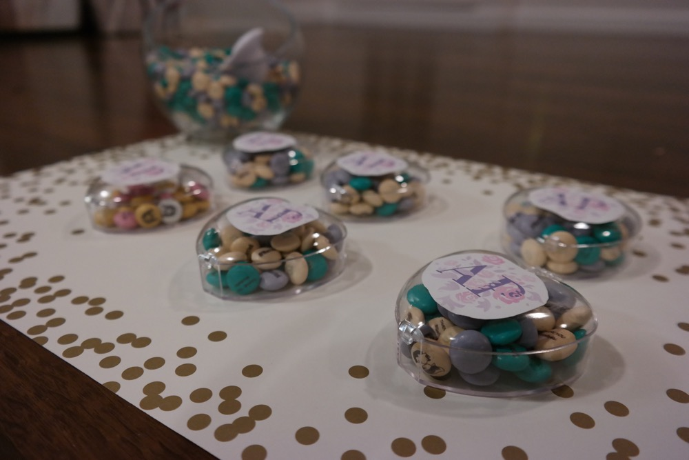 Bridal Shower M&M favors