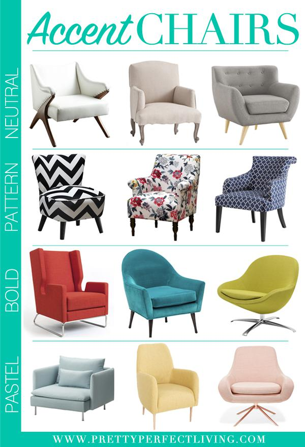 Pretty Perfect Living Accent Chairs