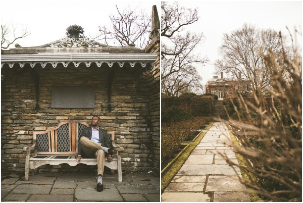 Romantic DC Garden Proposal and Engagement Session