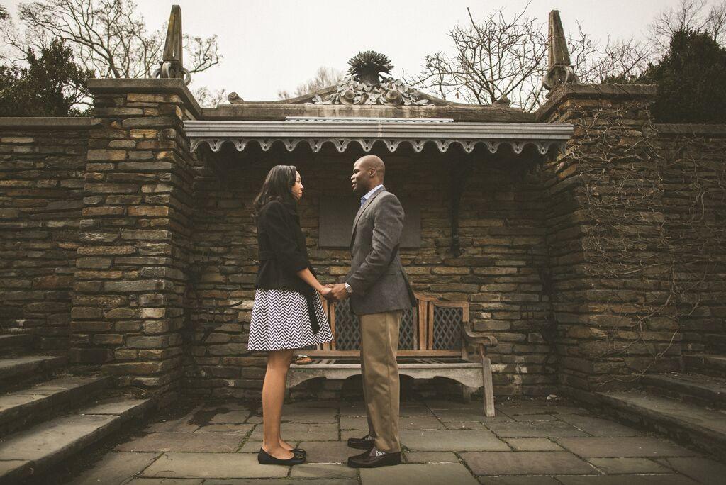 Romantic DC proposal by adibe photography