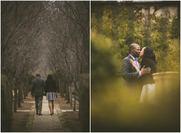 Romantic Garden proposal by Adibe Photography