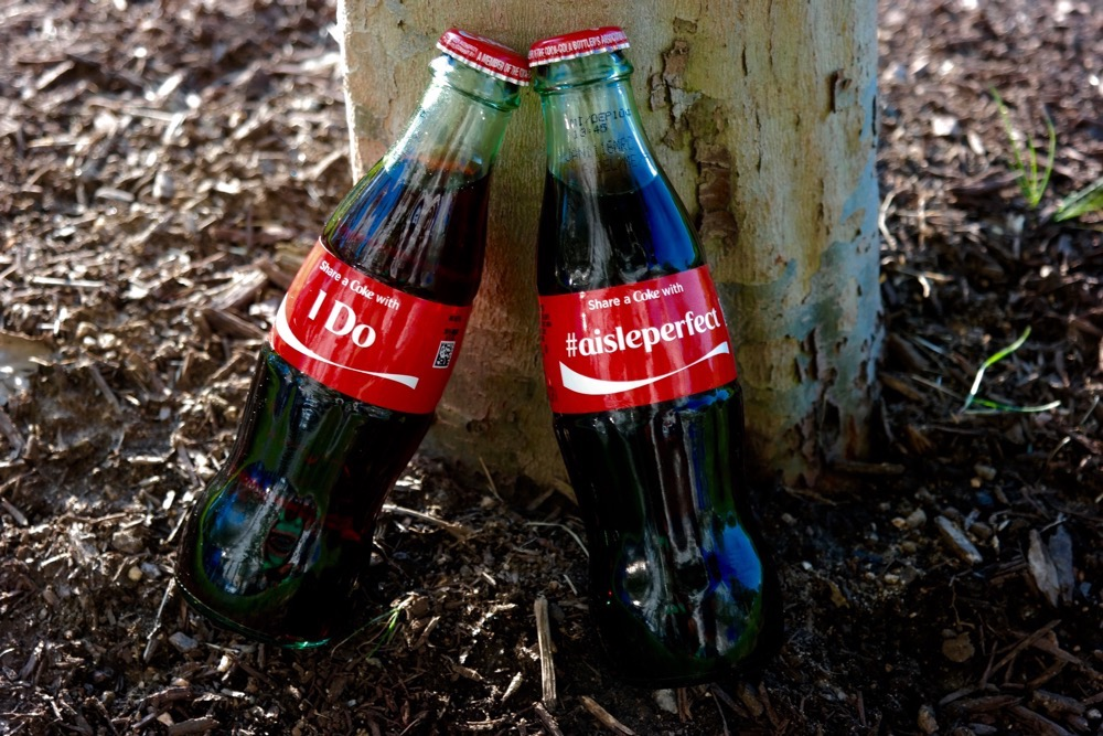 ShareaCoke with your Engagement