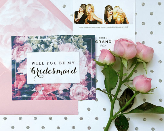 Will You Be My Bridesmaid Cards - Happy Moments Store