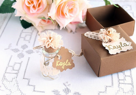 Will you be my bridesmaid Message in a Vial - Little Wood Cottage