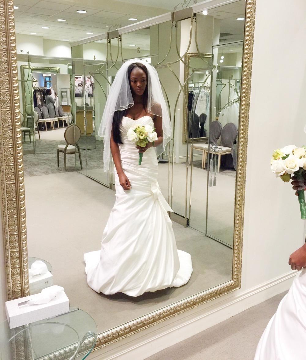 Affordable Elegant Wedding Gowns by David's Bridal 0