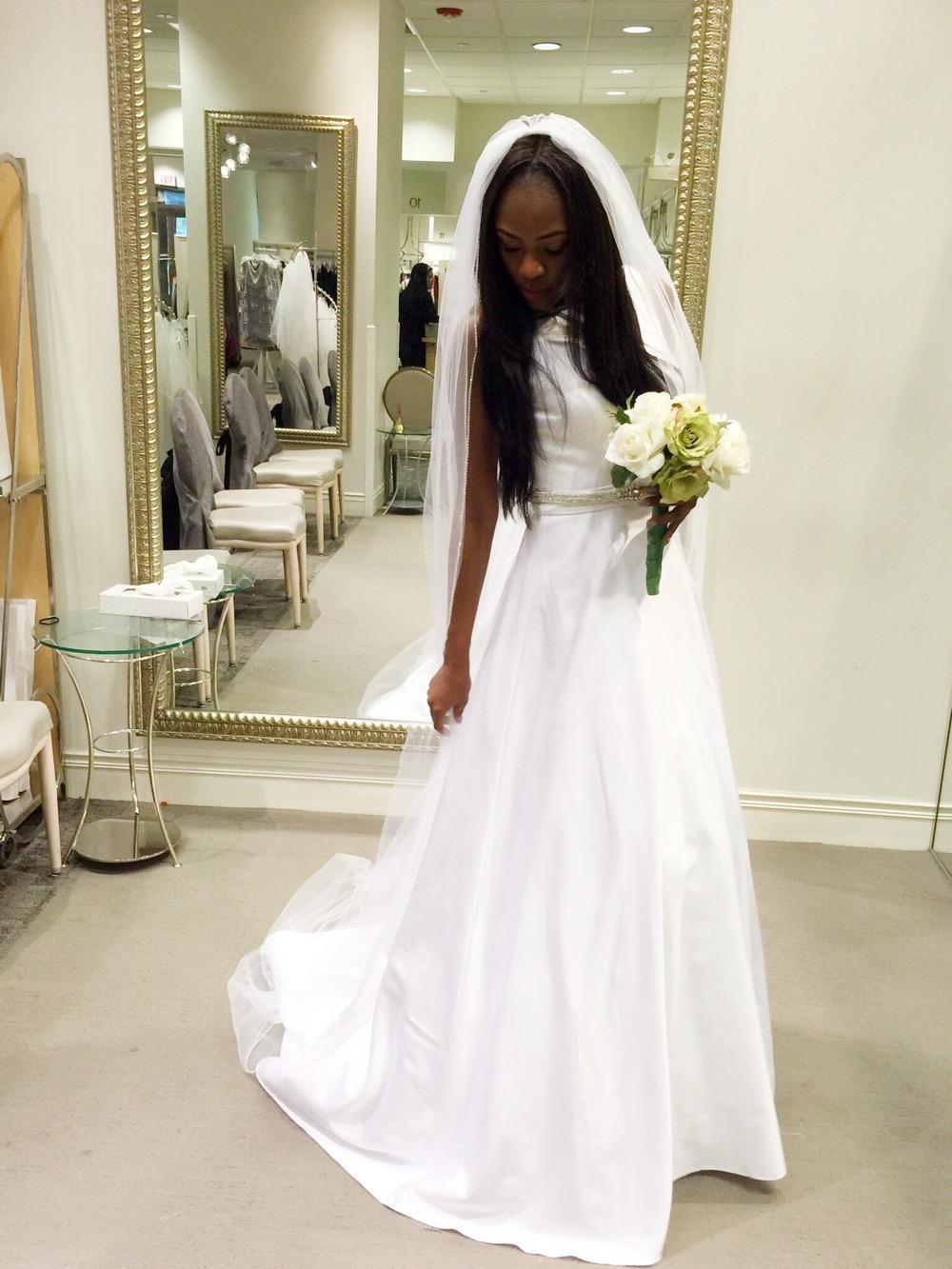 Affordable Elegant Wedding Gowns by David's Bridal 11