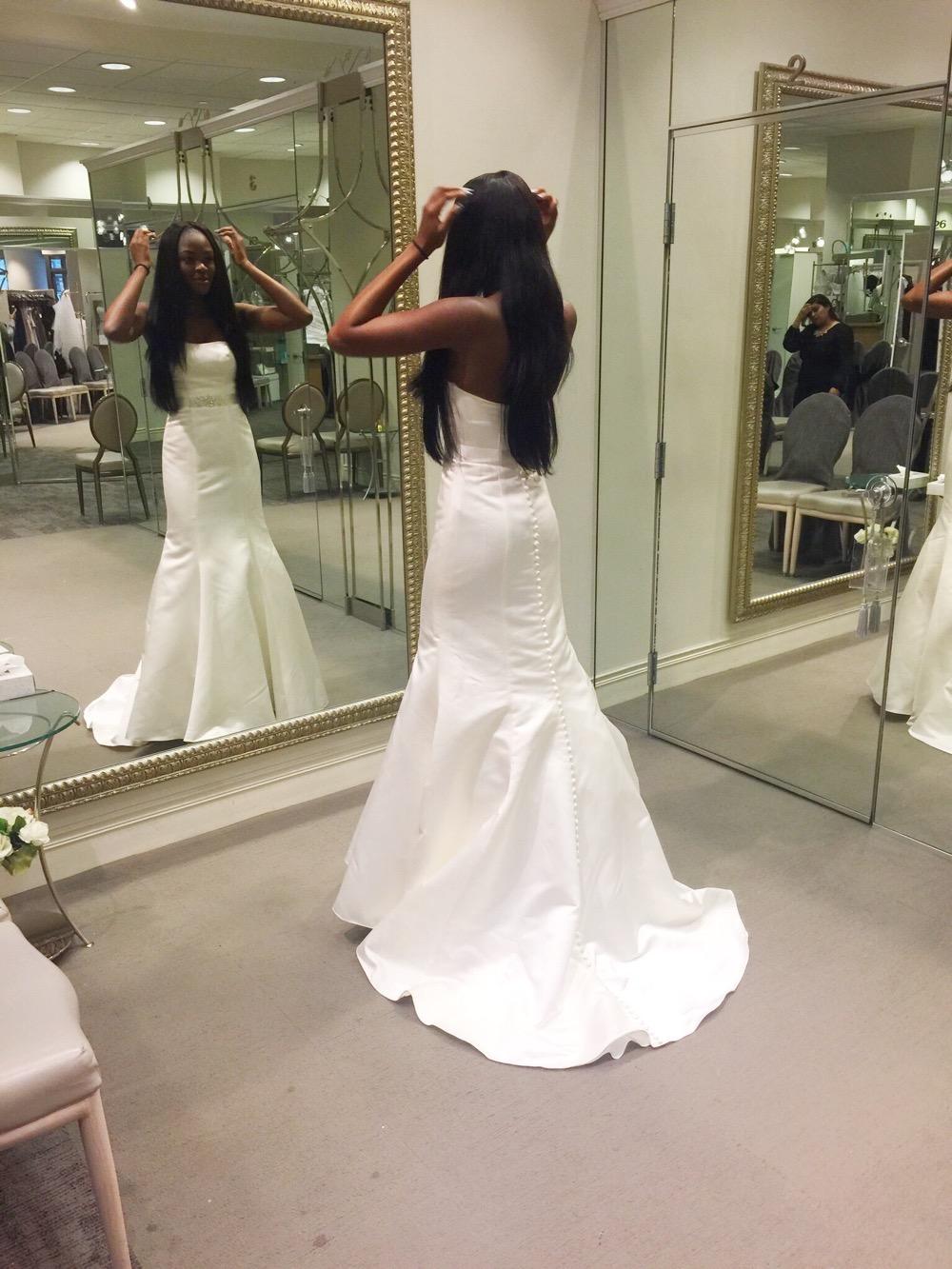 Affordable Elegant Wedding Gowns by David's Bridal 13