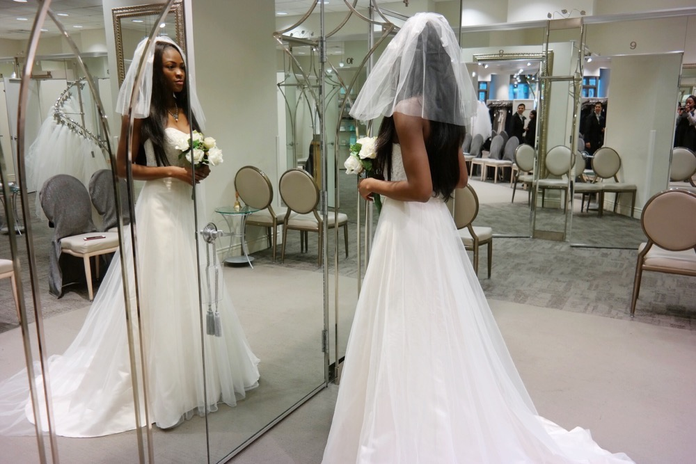 Affordable Elegant Wedding Gowns by David's Bridal 17