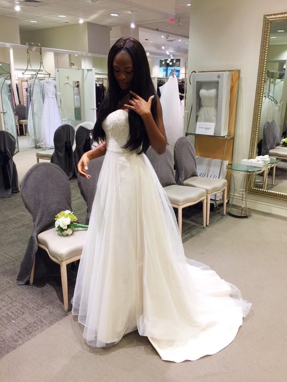 Affordable Elegant Wedding Gowns by David's Bridal 2