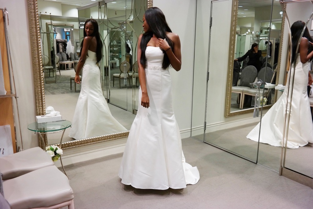 Affordable Elegant Wedding Gowns by David's Bridal 25