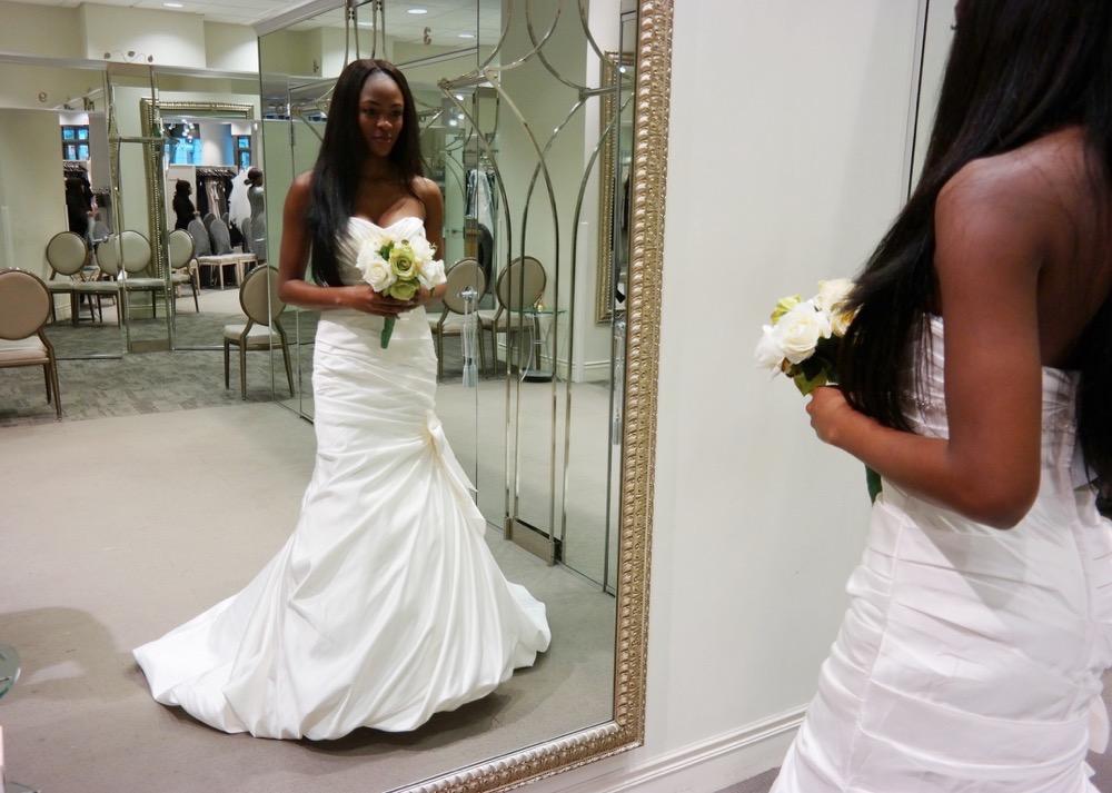 Affordable Elegant Wedding Gowns by David's Bridal 29